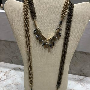 Stella Dot Mesh Necklace
